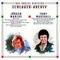 Cover Jürgen Marcus / Tony Marshall - Das große deutsche Schlager-Archiv