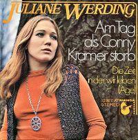 Cover Juliane Werding - Am Tag als Conny Kramer starb