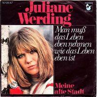 Cover Juliane Werding - Man muß das Leben eben nehmen wie das Leben eben ist