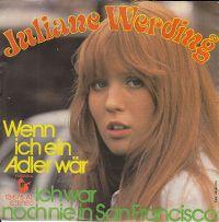 Cover Juliane Werding - Wenn ich ein Adler wär'