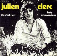 Cover Julien Clerc - Ce n'est rien