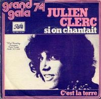 Cover Julien Clerc - Si on chantait