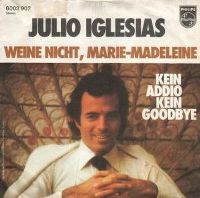 Cover Julio Iglesias - Kein Addio, kein Goodbye