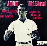 Cover Julio Iglesias - No llores, mi amor