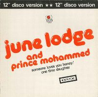 Cover June Lodge And Prince Mohammed - Someone Loves You Honey - One Time Daughter