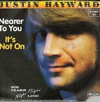Cover Justin Hayward - Nearer To You