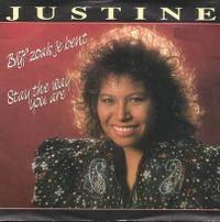 Cover Justine Pelmelay - Blijf zoals je bent