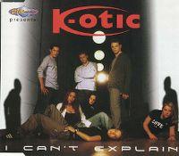 Cover K-Otic - I Can't Explain