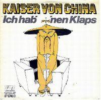 Cover Kaiser von China - Ich hab' 'nen Klaps