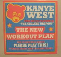 Cover Kanye West - The New Workout Plan