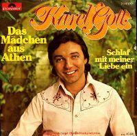 Cover Karel Gott - Das Mädchen aus Athen