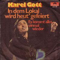 Cover Karel Gott - In dem Lokal wird heut' gefeiert