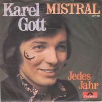 Cover Karel Gott - Mistral
