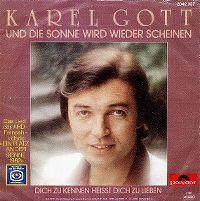 Cover Karel Gott - Und die Sonne wird wieder scheinen