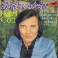 Cover Karel Gott - Weine nicht