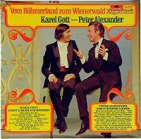 Cover Karel Gott - Peter Alexander - Vom Böhmerland zum Wienerwald