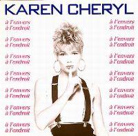 Cover Karen Cheryl - À l'envers à l'endroit