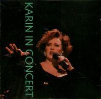 Cover Karin Bloemen - Karin in concert