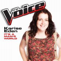 Cover Karise Eden - It's A Man's World