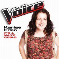 Cover Karise Eden - It's A Man's World