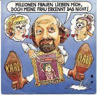 Cover Karl Dall - Millionen Frauen lieben mich, doch meine Frau erkennt das nicht!