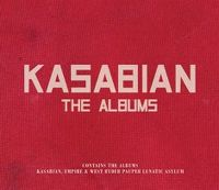 Cover Kasabian - The Albums