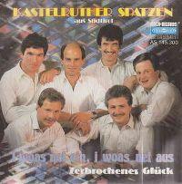 Cover Kastelruther Spatzen - I woas net ein, i woas net aus
