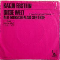 Cover Katja Ebstein - Diese Welt