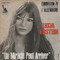 Cover Katja Ebstein - Un miracle peut arriver