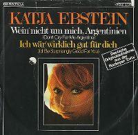 Cover Katja Ebstein - Wein' nicht um mich, Argentinien