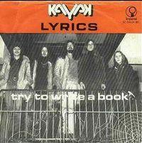 Cover Kayak - Lyrics