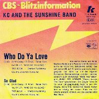 Cover KC & The Sunshine Band - Who Do Ya Love
