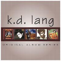 Cover k.d. lang - Original Album Series