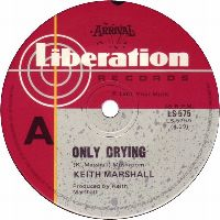 Cover Keith Marshall - Only Crying