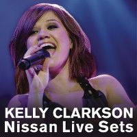 Cover Kelly Clarkson - Nissan Live Sets