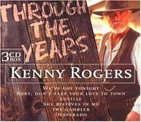 Cover Kenny Rogers - Through The Years - 20 Greatest Hits