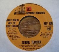 Cover Kenny Rogers & The First Edition - School Teacher