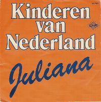 Cover Kinderen van Nederland - Juliana