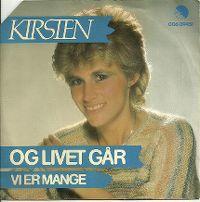Cover Kirsten Siggaard - Og livet går