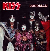 Cover KISS - 2000 Man