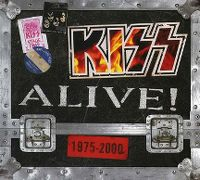 Cover KISS - Alive! 1975 - 2000