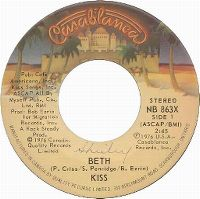 Cover KISS - Beth