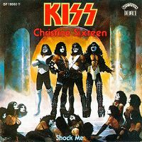 Cover KISS - Christine Sixteen