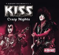 Cover KISS - Crazy Nights - Legendary Radio Broadcasts