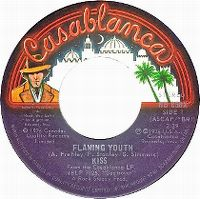 Cover KISS - Flaming Youth