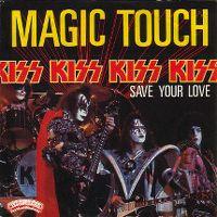 Cover KISS - Magic Touch