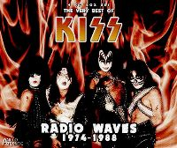 Cover KISS - Radio Waves 1974-1988 - The Very Best Of KISS