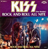 Cover KISS - Rock And Roll All Nite (Live)