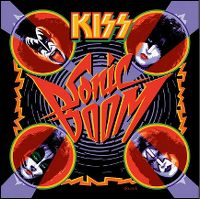 Cover KISS - Sonic Boom