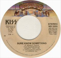 Cover KISS - Sure Know Something